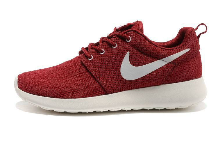 cheapest price another chance fashion chaussures nike roshe run id homme rouge blanc blanc logo | Nike ...