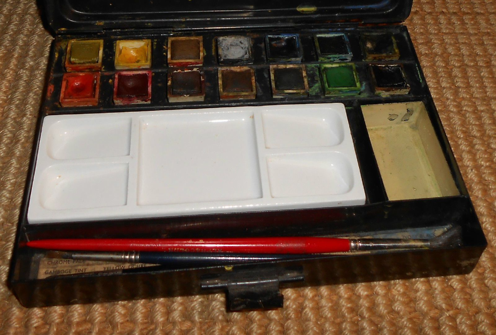 Vintage Winsor Newton Watercolor Tin 1920 S Watercolor