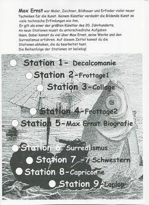 Kunstunterricht In Der Grundschule Stationsarbeiten Zu Wassily