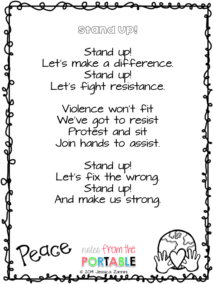 Photo of Stand Up! – A Poem for Black History Month – Notes from the Portable