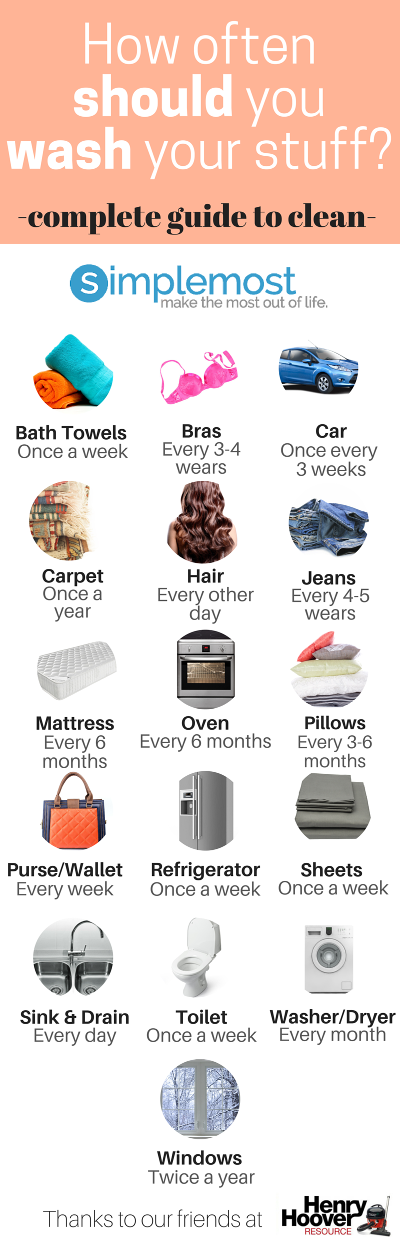 4f6b70833f9d Here's How Often You Should Clean Your Stuff [Infographic ...
