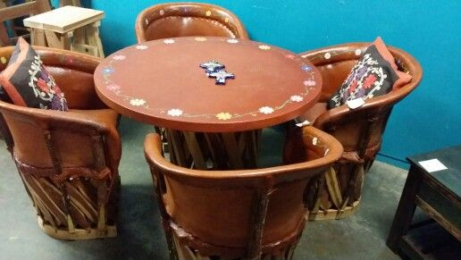 Discover Ideas About Mexican. Mexican Equipales Table Set From Buena Vista  Furniture