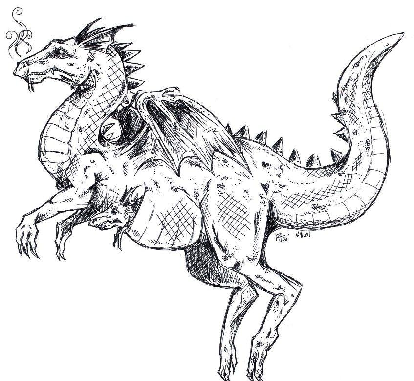 Kangaroo Dragon Ernest Drake