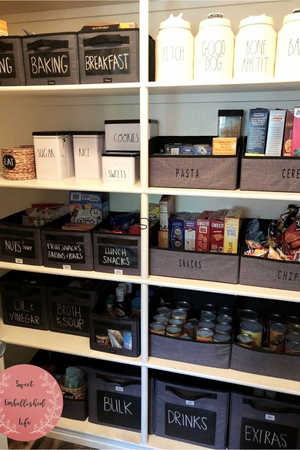 30+ Perfectly Organized Pantries That Will Inspire You To Give Your Pantry A Makeover - NOW #pantryorganizationideas