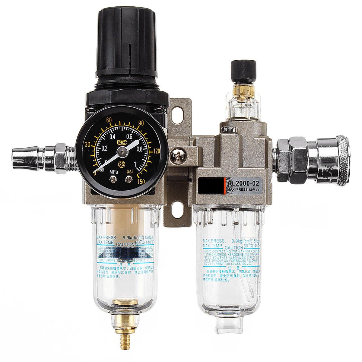 [21.99] 150Psi Manual Pneumatic Air Pressure Filter