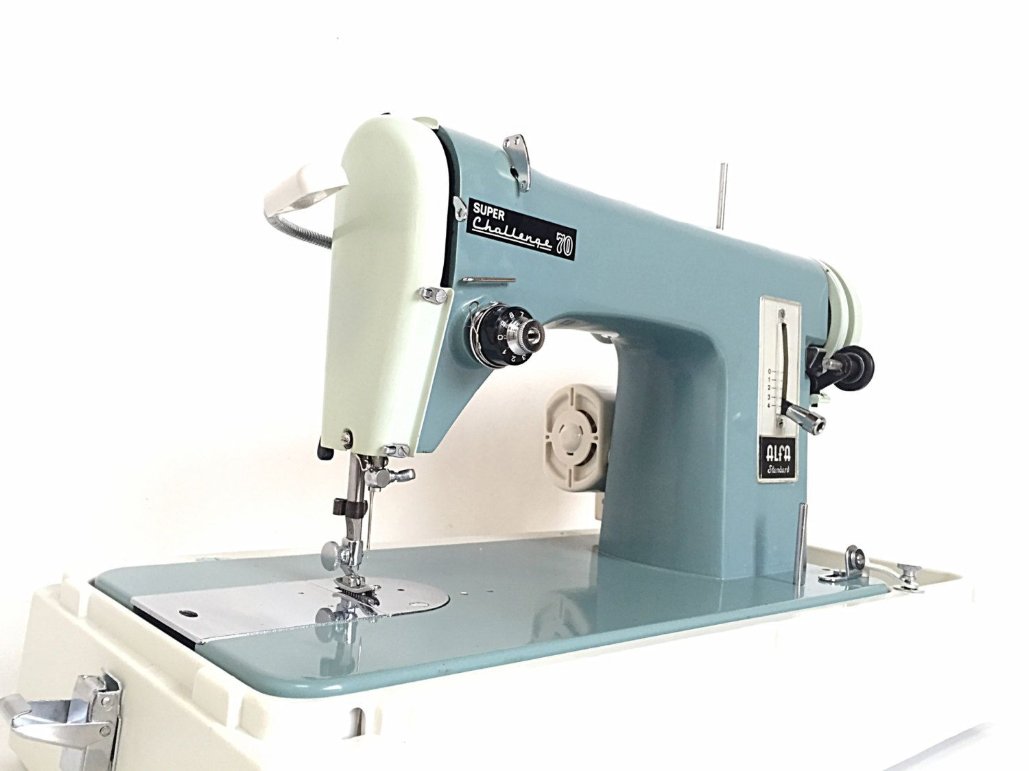 ALFA 70 Heavy Duty Semi Industrial Sewing Machine + Walking Foot - Sew Leather, Danim, Canvas, Upholstery, Bulky & General Materials by SEWING4EVERYONE on Etsy