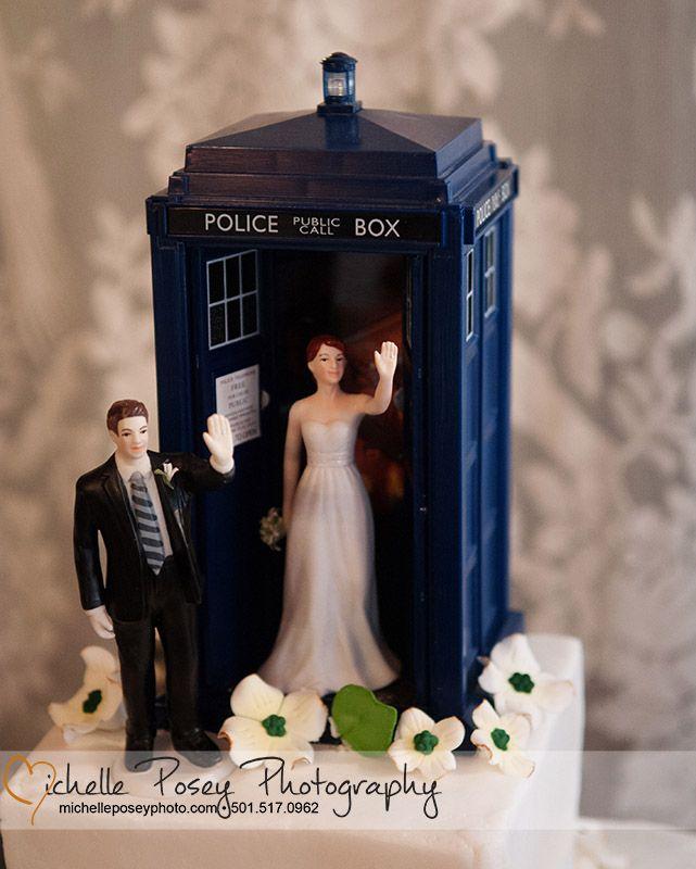 The Tardis Wedding Cake Topper Mayish Pinterest