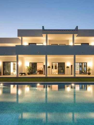 A modern Spanish villa infused with warmth
