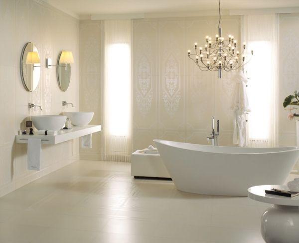 badezimmer modern Badideen Bathroom Pinterest - badideen modern