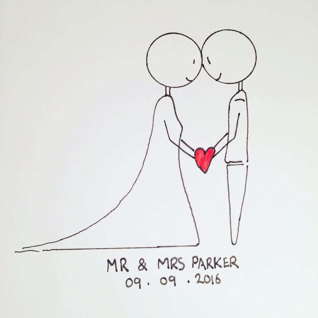 förslag på födelsedagskort Stick man wedding card drawing. | kort förslag/vikning | Pinterest  förslag på födelsedagskort