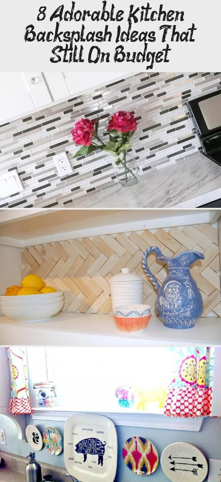 8 Adorable Kitchen Backsplash Ideas That Still On Budget – KTCHN Kitchen