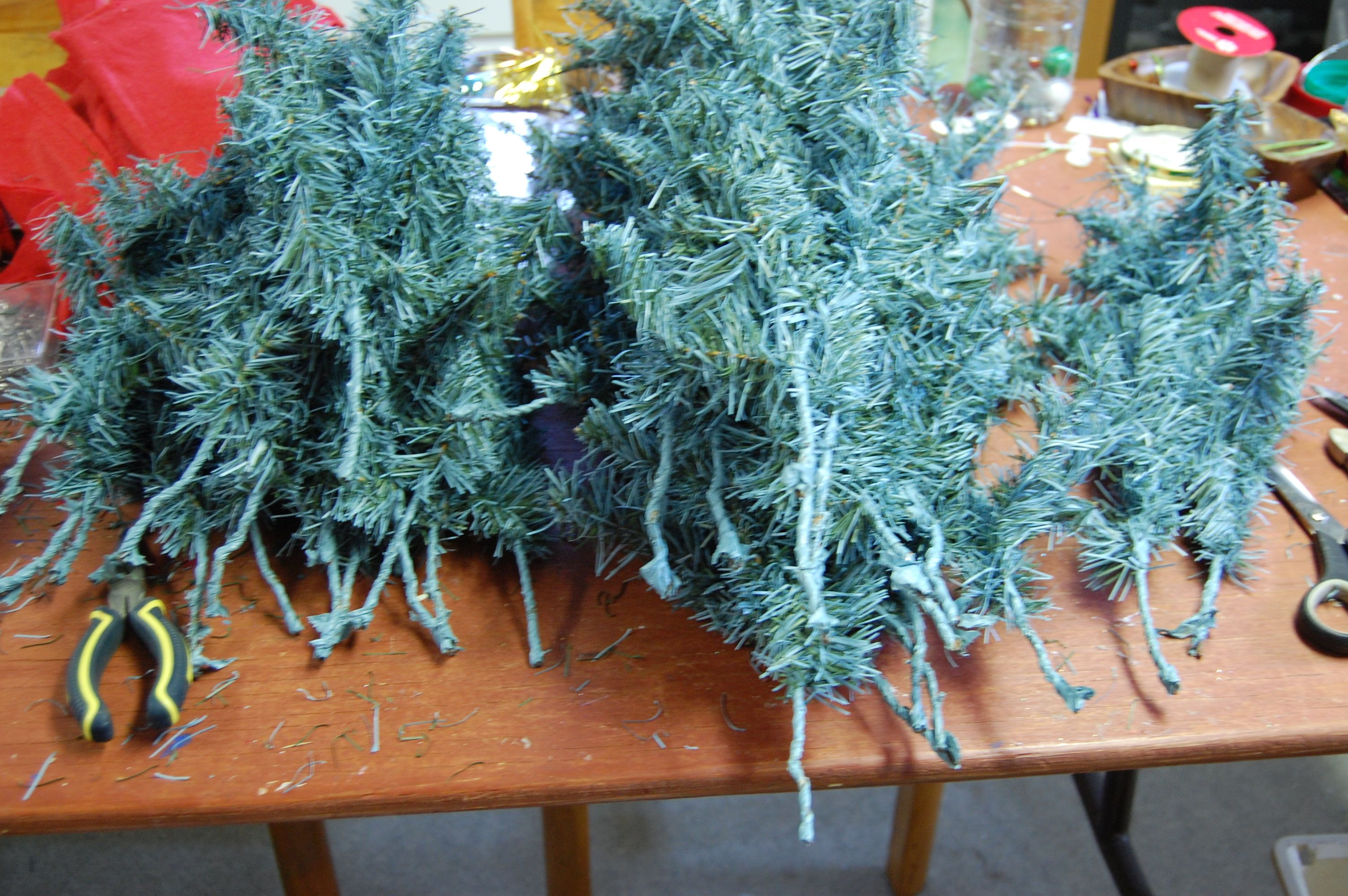 upcycle my old christmas tree | Noël | Pinterest | Upcycle and ...