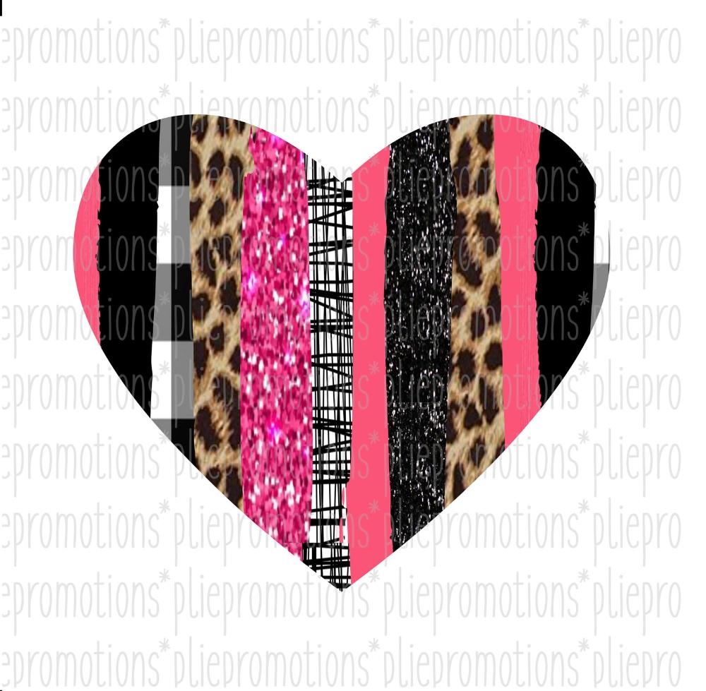 Heart Clipart Heart Png File Leopard Print Heart Love Png Etsy Clip Art Love Png Scrapbook Shirts