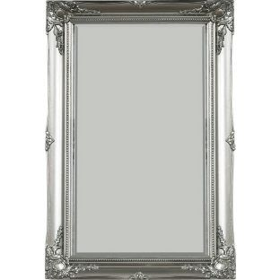 Buy Living Maissance Silver Swept Wall Mirror At Argoscouk
