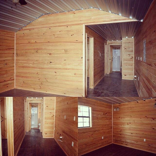 12x32 Deluxe Lofted Barn Cabin | Lofted barn cabin, Tiny ...