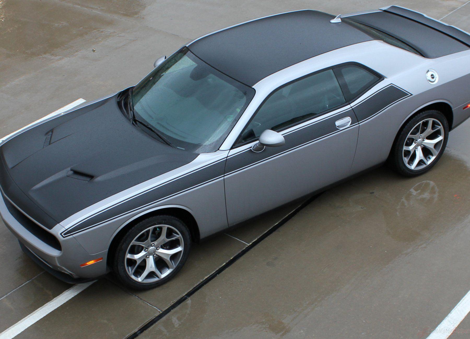 2011 2020 Dodge Challenger Pursuit T A 392 Side Stripe Side Door