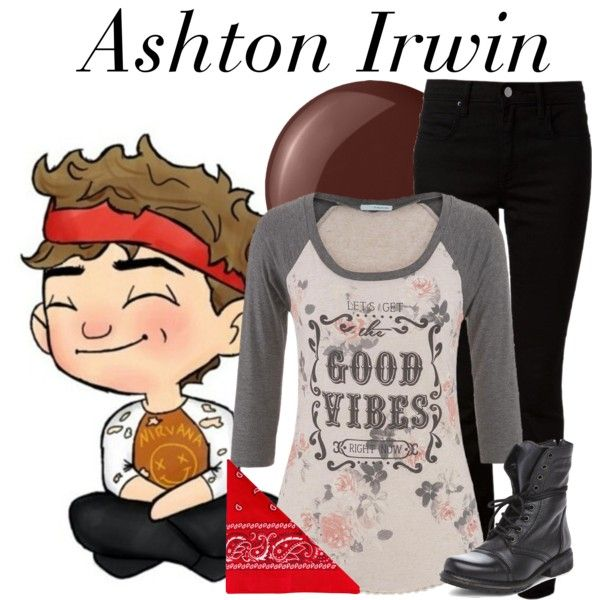 Ashton Irwin by nerd-ville on Polyvore featuring maurices, T By Alexander Wang, Steve Madden, NLY Accessories, Essie, 5sos, 5secondsofsummer, 5sosfam and 5sosoutfits