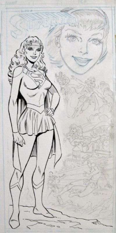 Supergirl Who's Who Artist: Jim Mooney