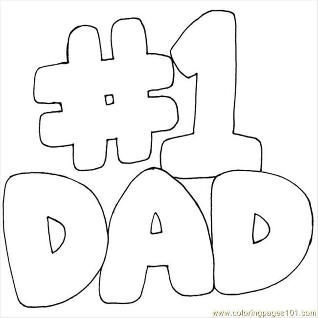 dad coloring pages google search - Dad Coloring Pages
