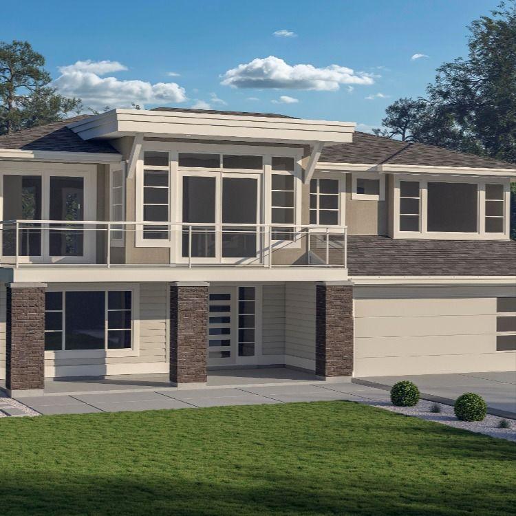 Basement Entry 2 3 773 Jenish House Design House Plans House Custom Homes