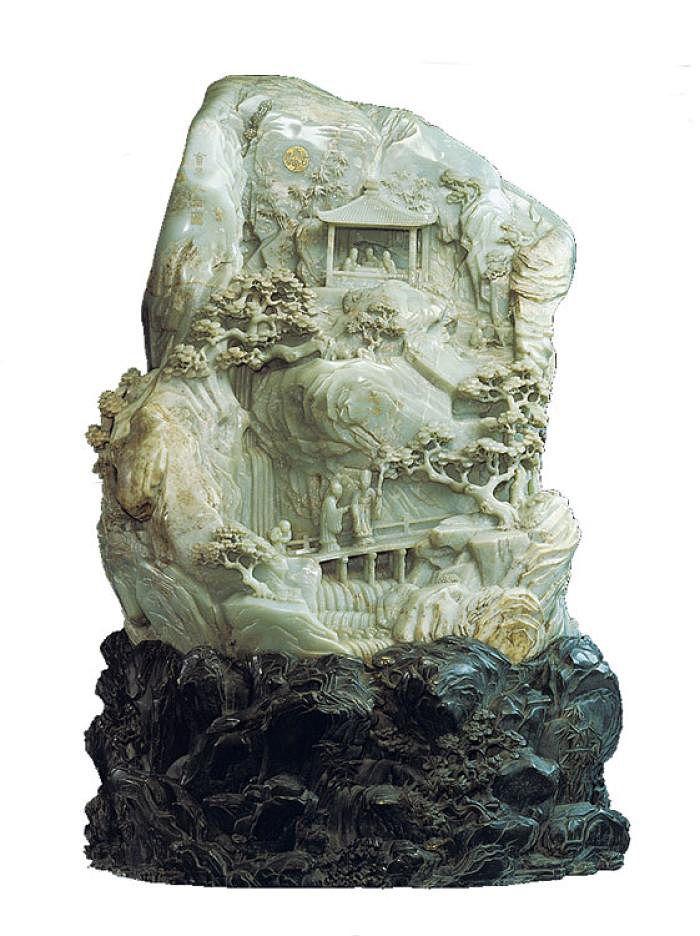 Ancient jade carvings pinterest stone