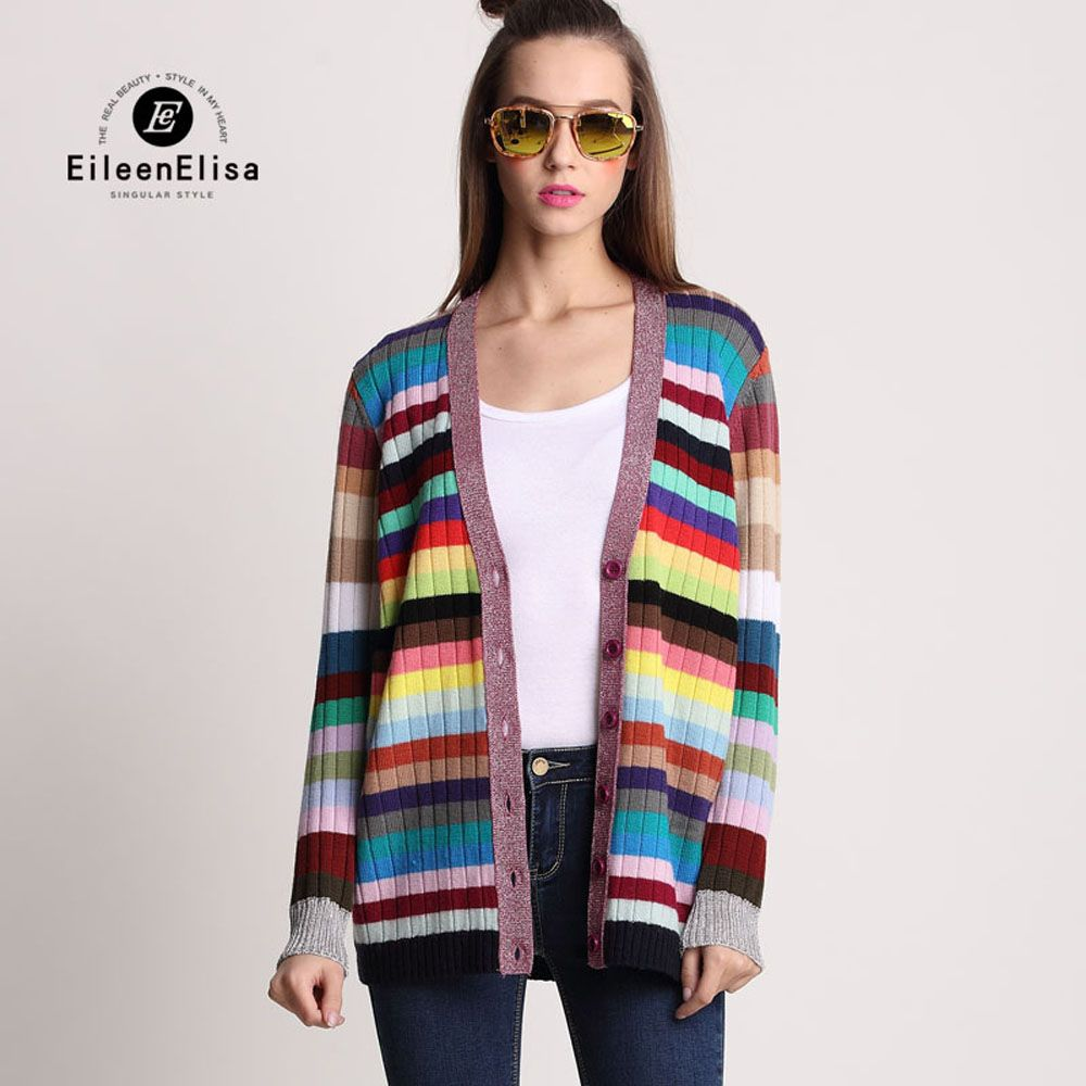 Luxury Cardigans Sweaters for Women Spring Autumn Cardigans EE ...