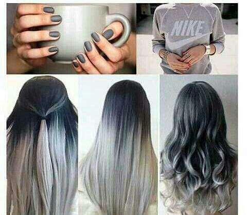 Grey - balayage