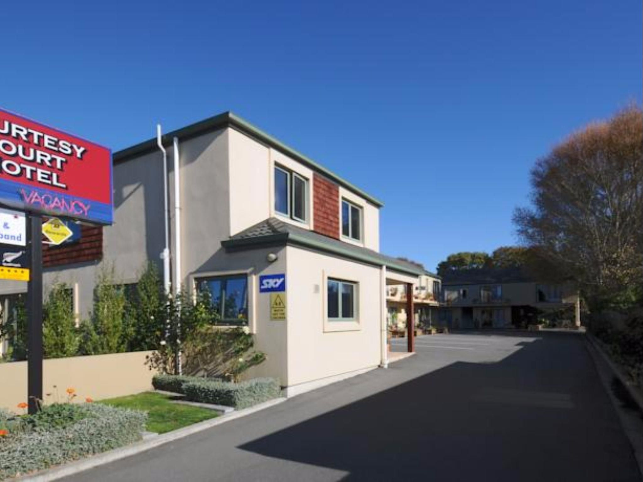 Christchurch Courtesy Court Motel New Zealand, Pacific Ocean and Australia Ideally located in the prime touristic area of Christchurch Central City, Courtesy Court Motel promises a relaxing and wonderful visit. The hotel offers a high standard of service and amenities to suit the individual needs of all travelers. To be found at the hotel are free Wi-Fi in all rooms, wheelchair accessible, facilities for disabled guests, luggage storage, Wi-Fi in public areas. Comfortable gues...