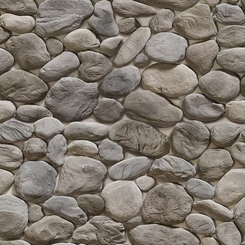 Removable Wallpaper From Wallsneedlove Lifestyle Stone Wallpaper Stone Pattern Exterior Stone