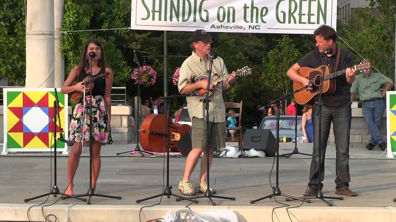My Uncle Danny And Danielle Bishop With Bryan Sutton At Shindig On The Green July 7 2012 July 7 Green