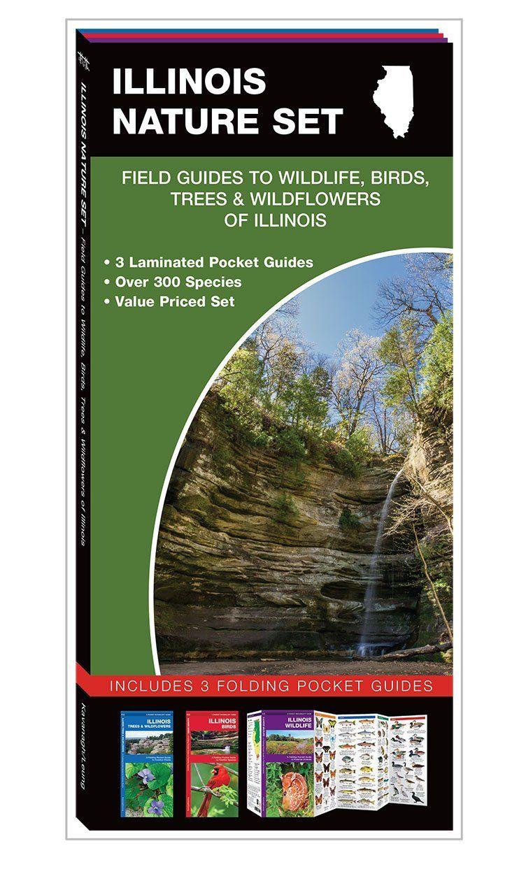 Illinois nature set 3 pack pocket guides michigan