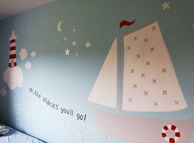 tom 39 s room wall kinderzimmer kinderzimmer junge und kinderzimmer ideen. Black Bedroom Furniture Sets. Home Design Ideas
