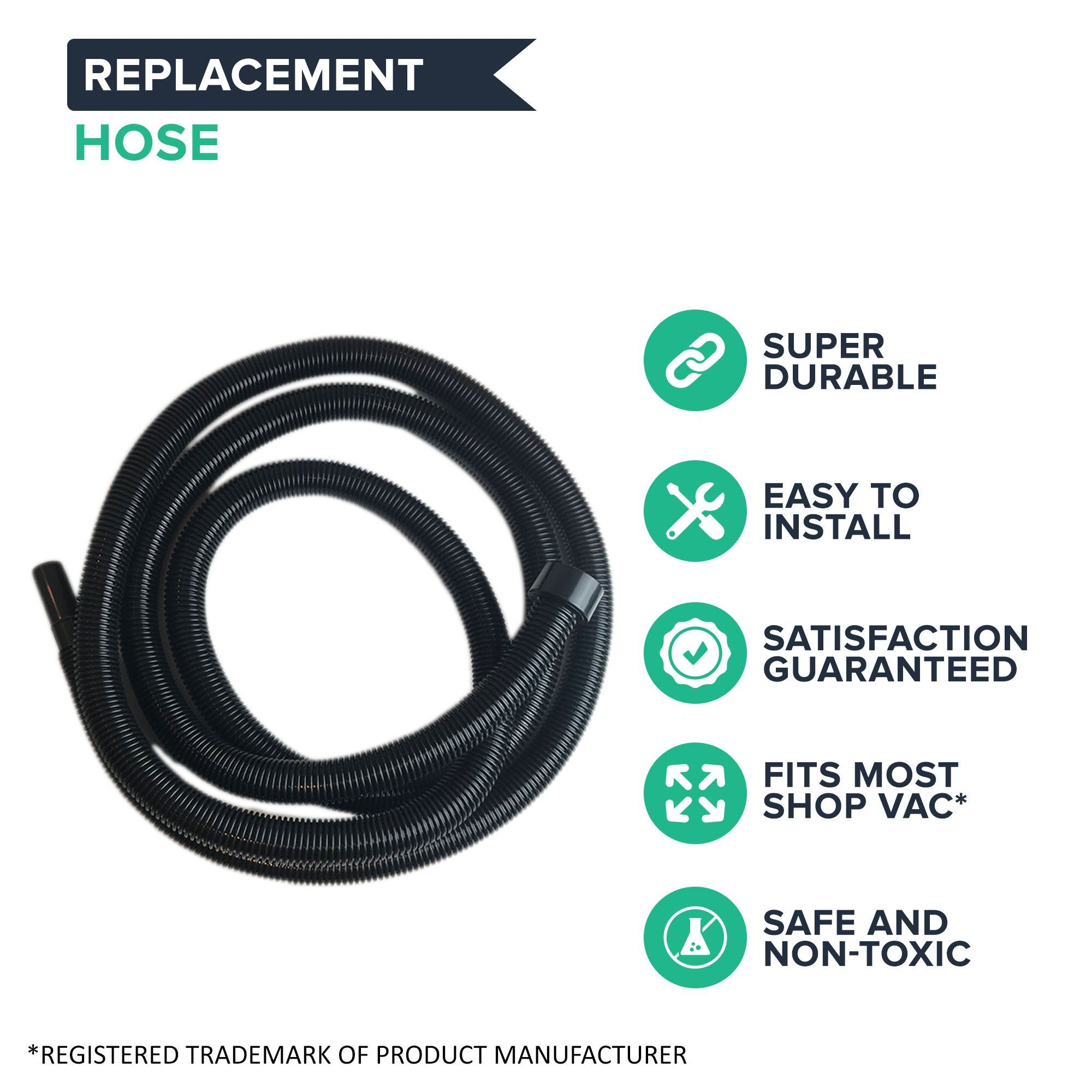 Think Crucial Replacement For Shopvac 20 Foot Hose Stretches To Fits Vacs W 21 4 Inch Openings Want Extra Details Click The Pho In 2020 Hose Shop Vac Replacement
