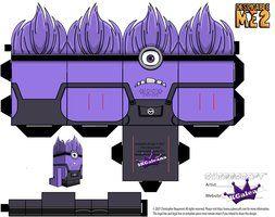 Despicable Me Evil Purple Minion Part 1 by SKGaleana