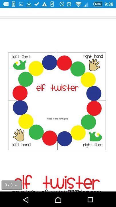 Elf Twister In 2019 Elf Christmas Elf Elf On The Shelf
