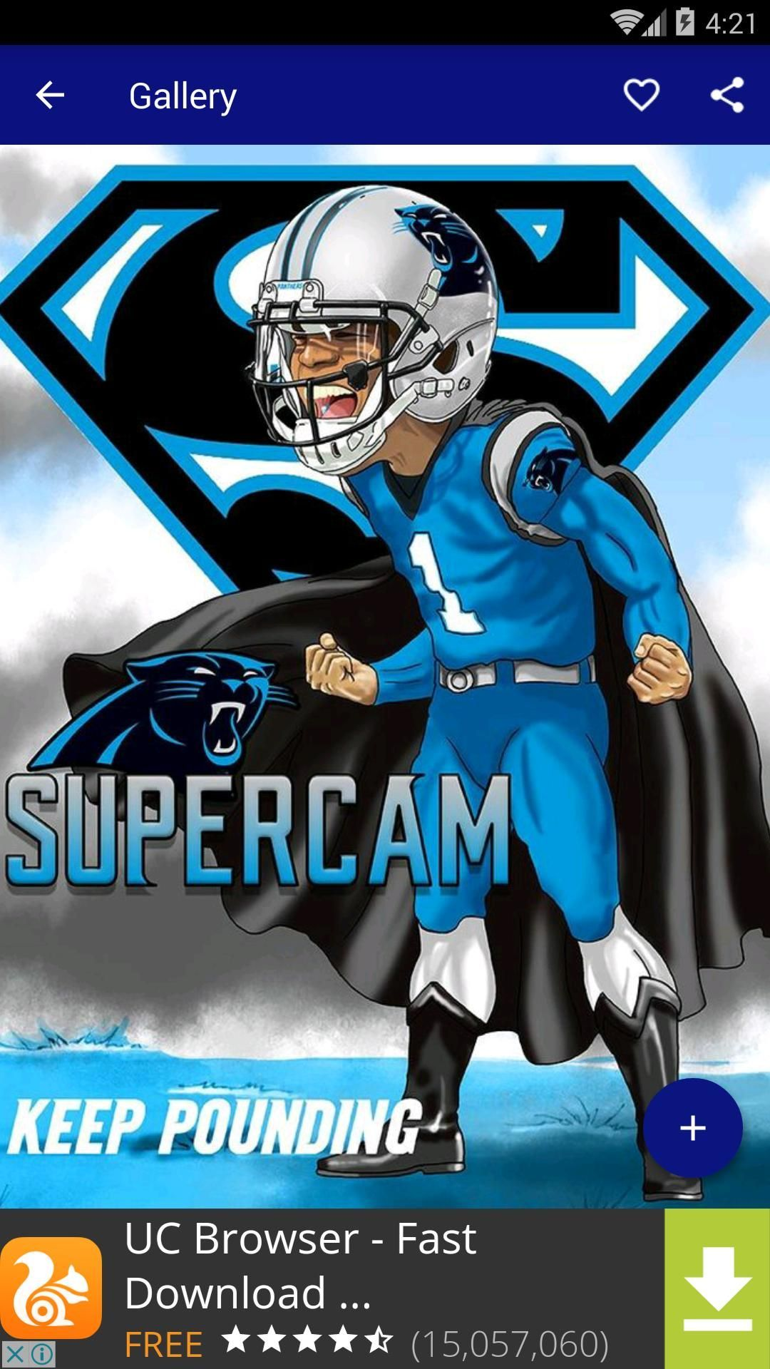 Cam Newton Panthers Wallpaper Android In 2020 Cam Newton Panthers Carolina Panthers Panthers