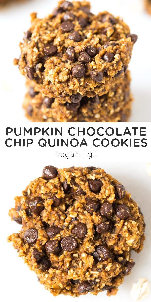 Photo of Pumpkin Chocolate Chip Quinoa Cookies – Simply Quinoa