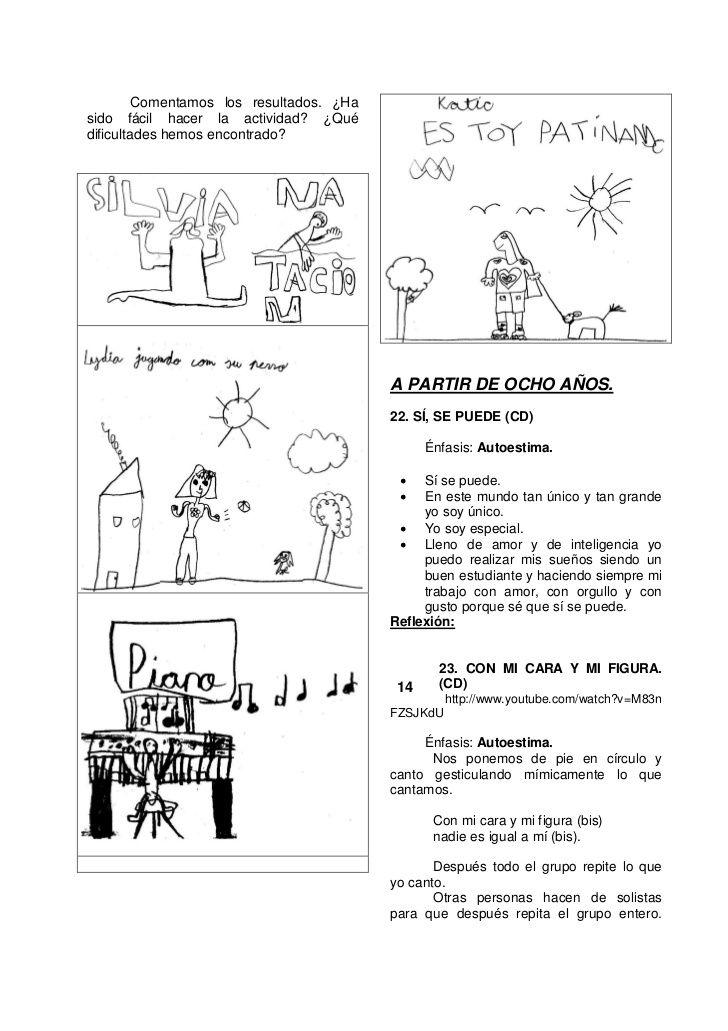 16 actividades-de-autoestima | Para aprender jugando | Pinterest ...
