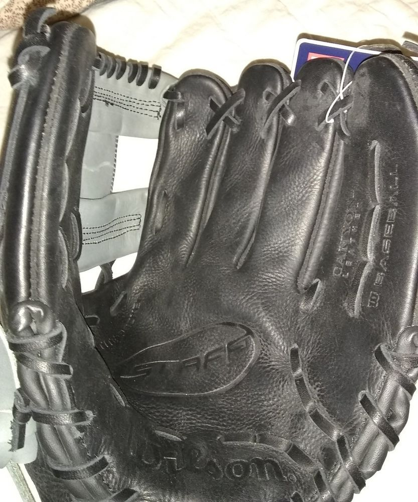 New Black WILSON A0700ST115 11 1/2 Canyon Leather