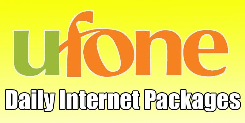 Ufone 3g Daily Weekly Monthly 2018 Internet Packages With Images