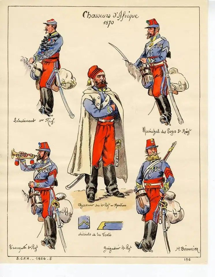 Pin By Herve Gauci On Chasseurs D Afrique French Army Mystery Of History Military Art