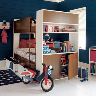 Living With Littles Clever Kids Rooms That Don T Scrimp On Style Cool Bunk Beds Kids Bunk