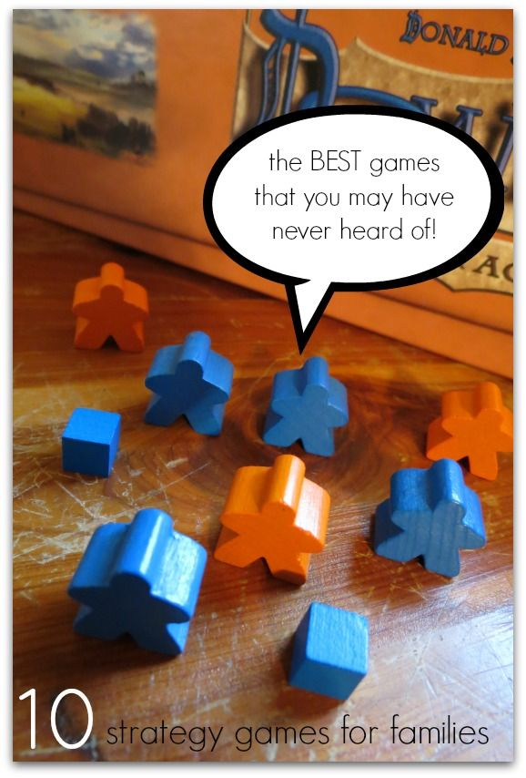 10 Amazing Strategy Games for Families - You will love these games and you probably have never heard of many of them! #50giftguides