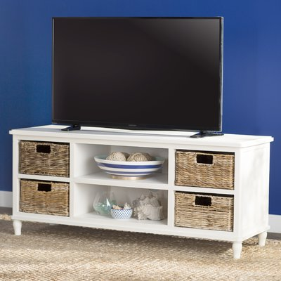 Charlton Home Chaim Tv Stand For Tvs Up To 43 Color Distressed