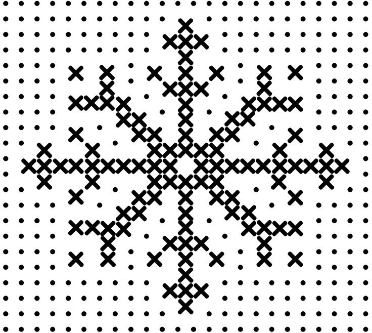 Cross stitch snowflake... | karácsony | Pinterest | Cross stitch ...