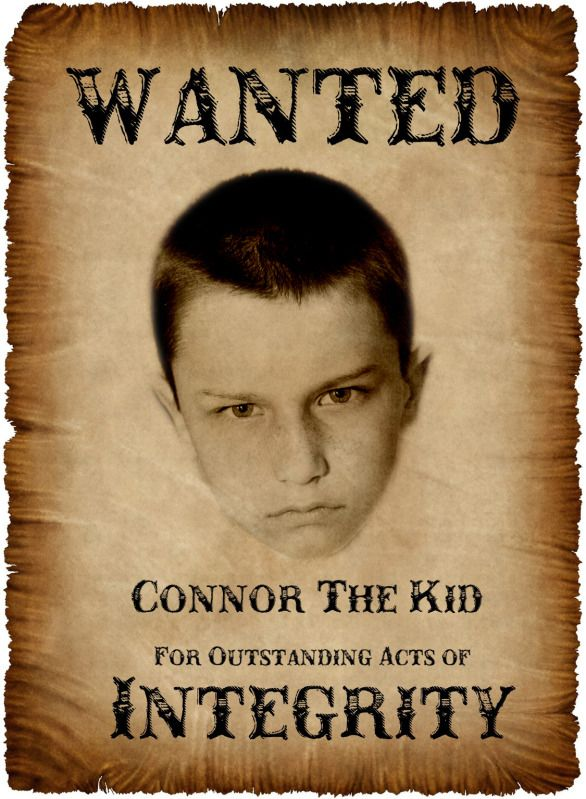 Wanted Poster for each child Blue \ Gold Banquet Pinterest - free wanted poster maker