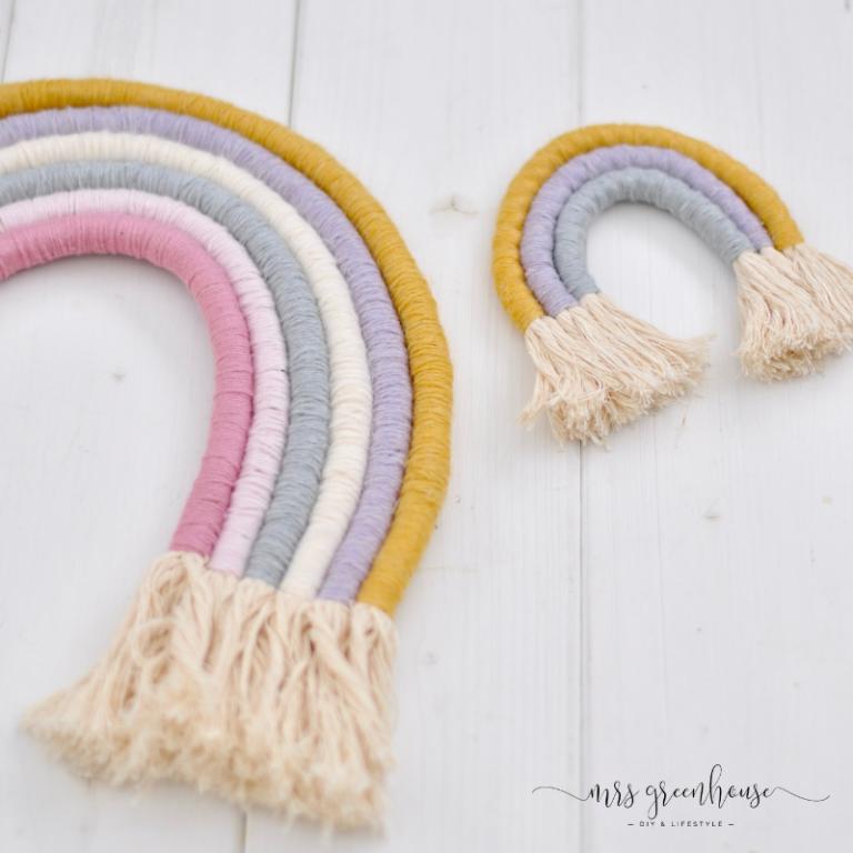 DIY Fiber Rainbow mit Anleitung ganz einfach selbermachen #diyundselbermachen