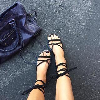 5fe63dab697d RAYE Sadie Gladiator Sandal in Black