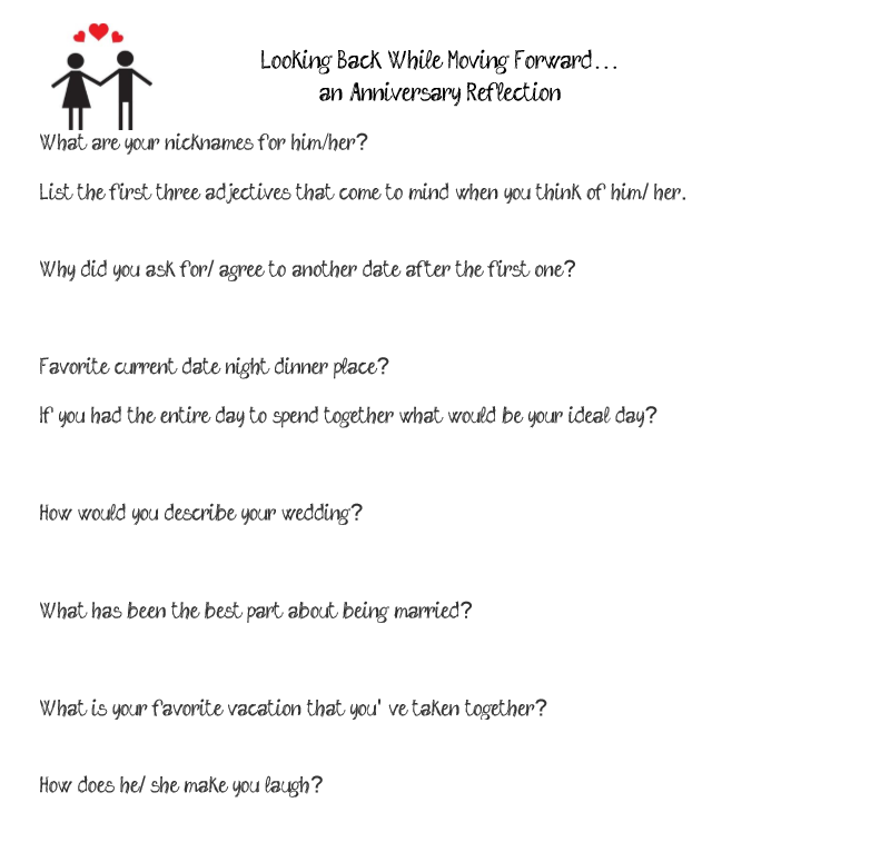 Dating questionnaire for him