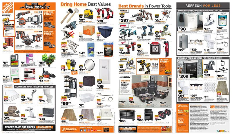 Home Depot Canada Weekly Flyer 8 20 2020 8 26 2020 Preview Download In 2020 Home Depot Canada Weekly Flyer Flyer